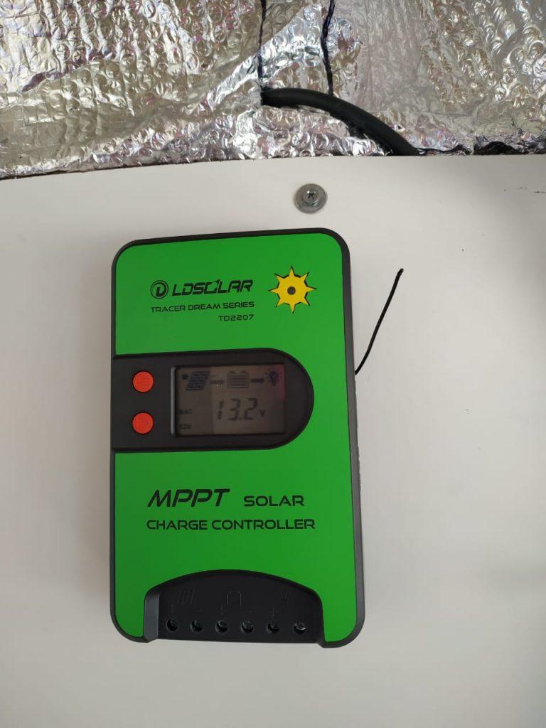 panel solar controlador